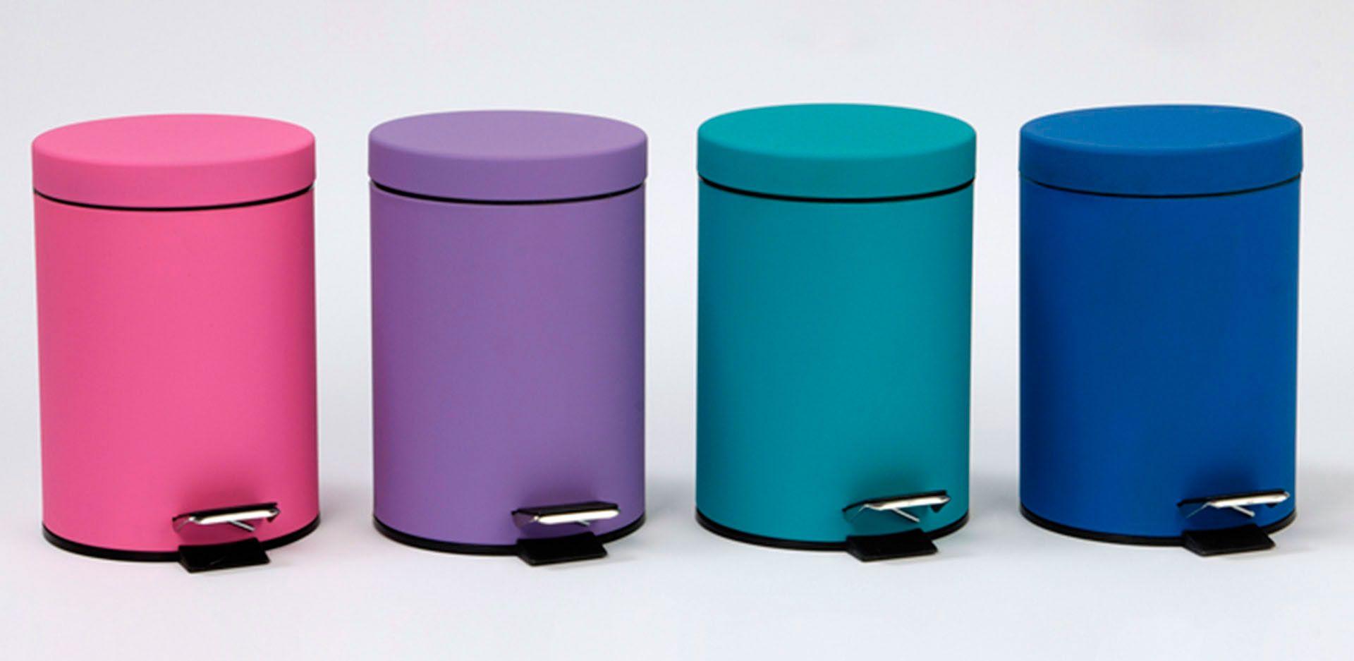papeleras de colores