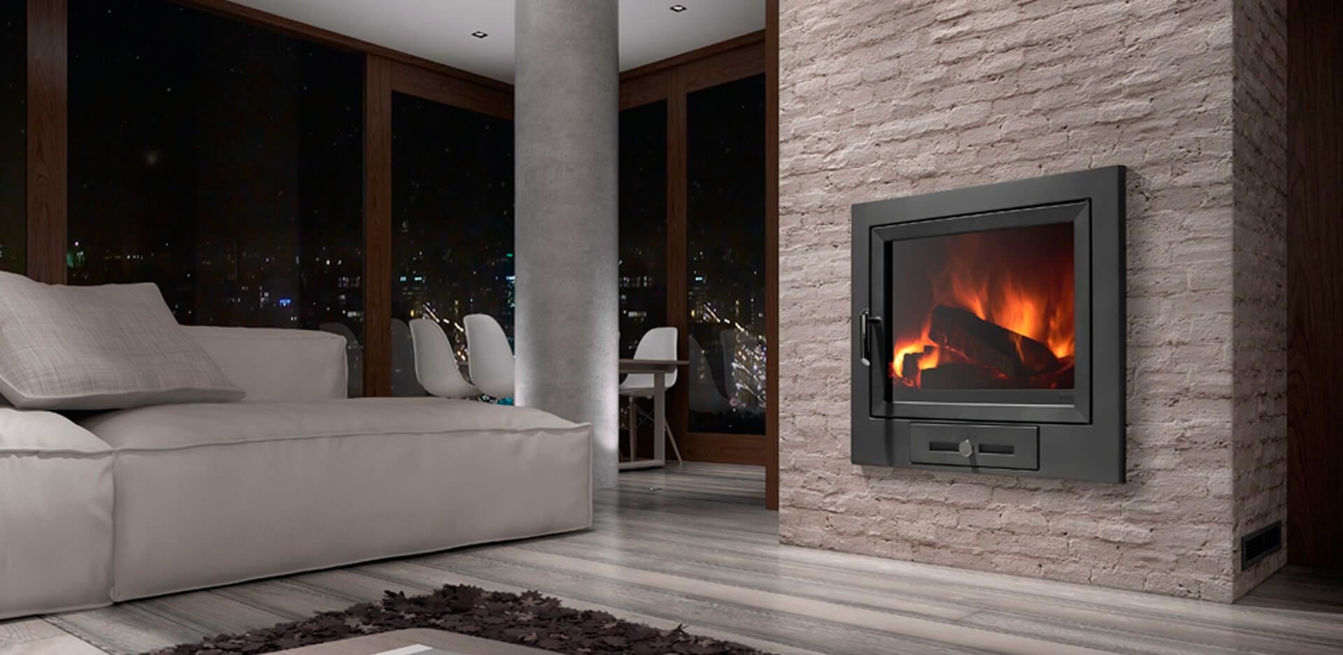 hogar calefactor moderno 1