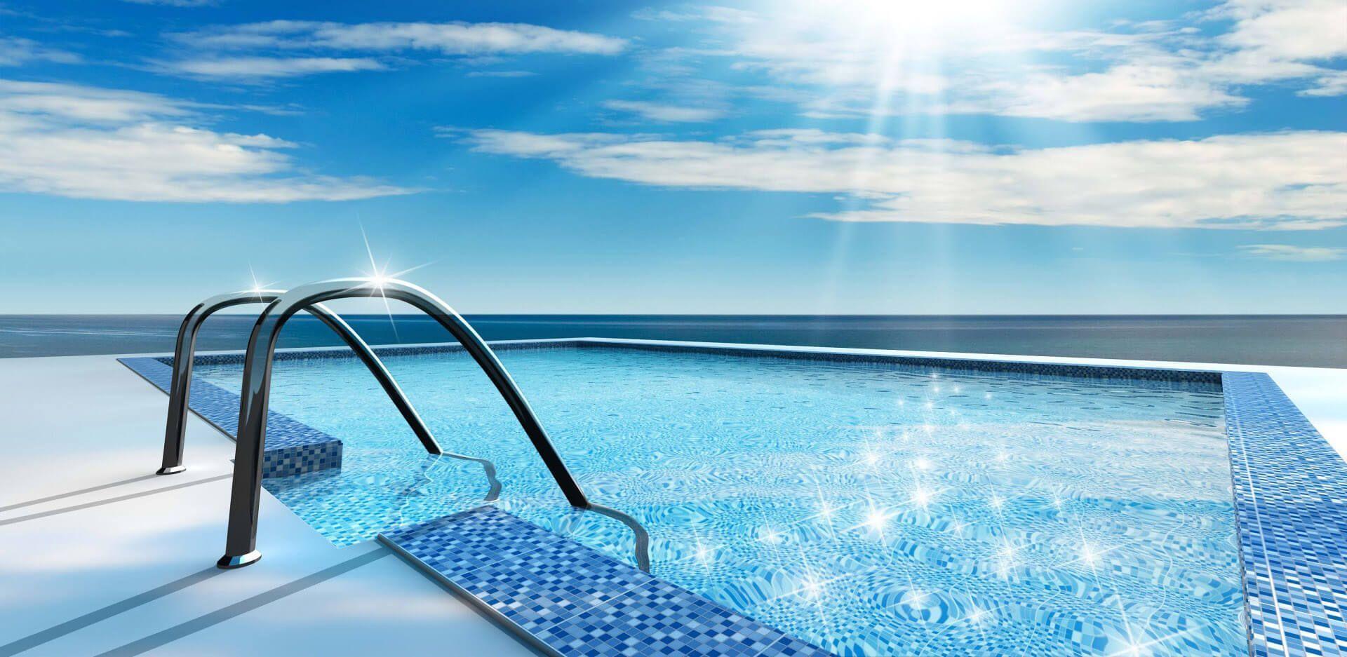 Productos para tratamiento del agua de piscinas.